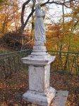 Drahovice - socha Panny Marie |