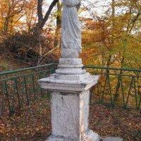 Drahovice - socha Panny Marie