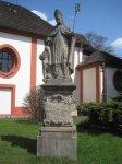 Štědrá - socha sv. Prokopa  