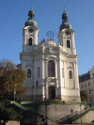 kostel sv. Máří Magdalény - říjen 2011