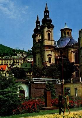 kostel v sedmdesátých letech 20. století